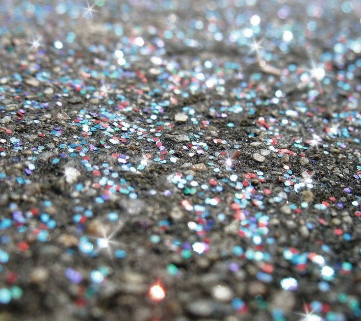 Silver Glitter Sparkles Background 2