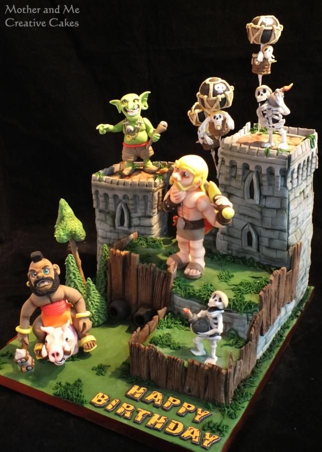Th Birthday Cake Clash Of Clans