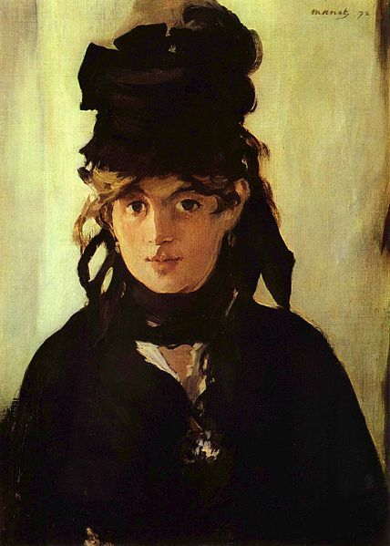 Berthe Morisot with a Bouquet of Violets(not pictured), 1872. For me, his best work. Try copying it and you'll appreciate it more.