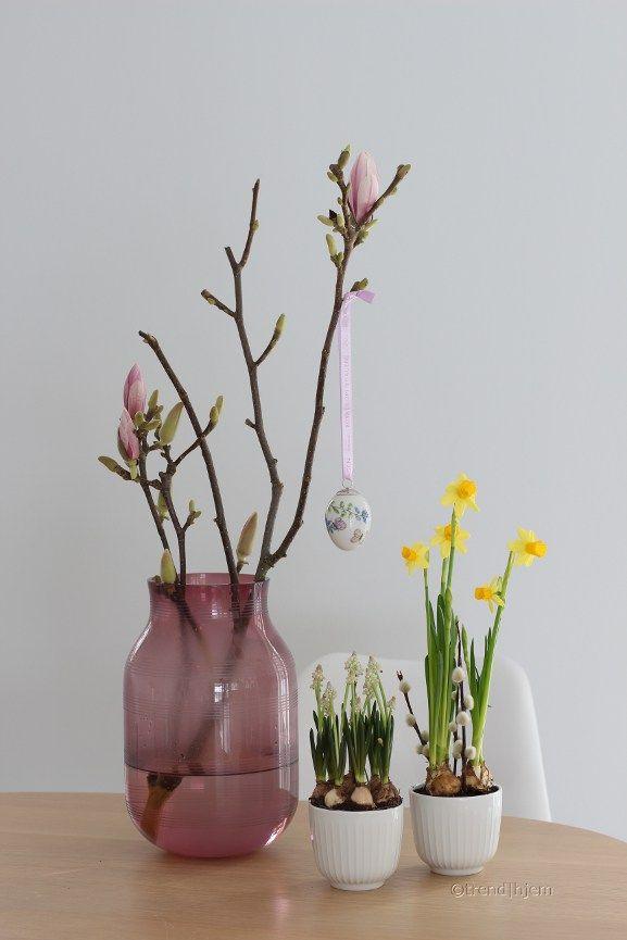 pynt til påske med vårens vakre blomster