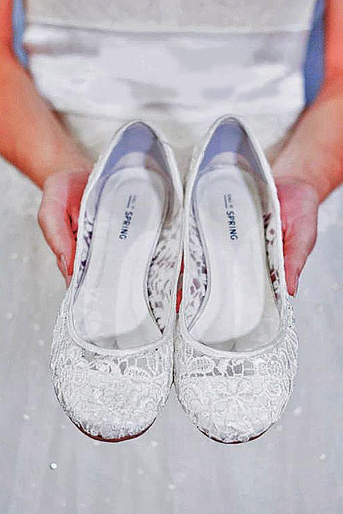 Best 25 Lace wedding flats ideas on Pinterest  White