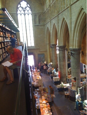 My favorite bookstore Selexyz Dominicanen in Maastricht Holland.