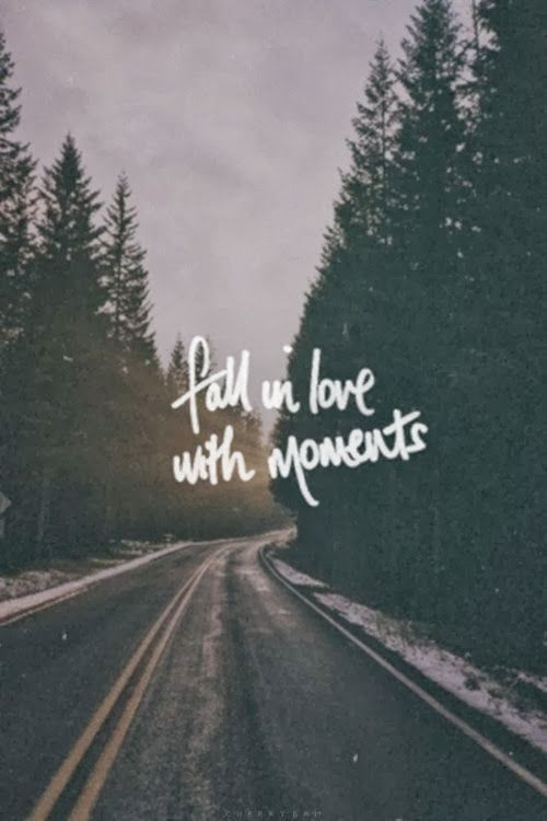 fall in love with adventure