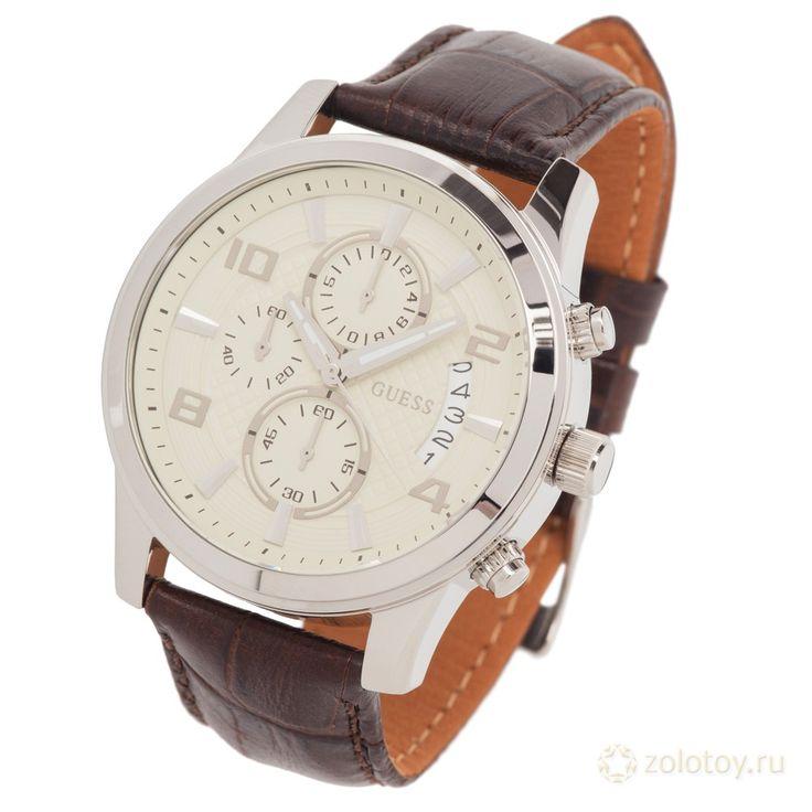 GUESS W0076G2 ТОВ № 77876 Цена на 20.01.2014 - 7990 р. http://www.zolotoy.ru/catalog/watch/2078119493974/#ad-image-0 #часы #ювелирныймагазин #золотой