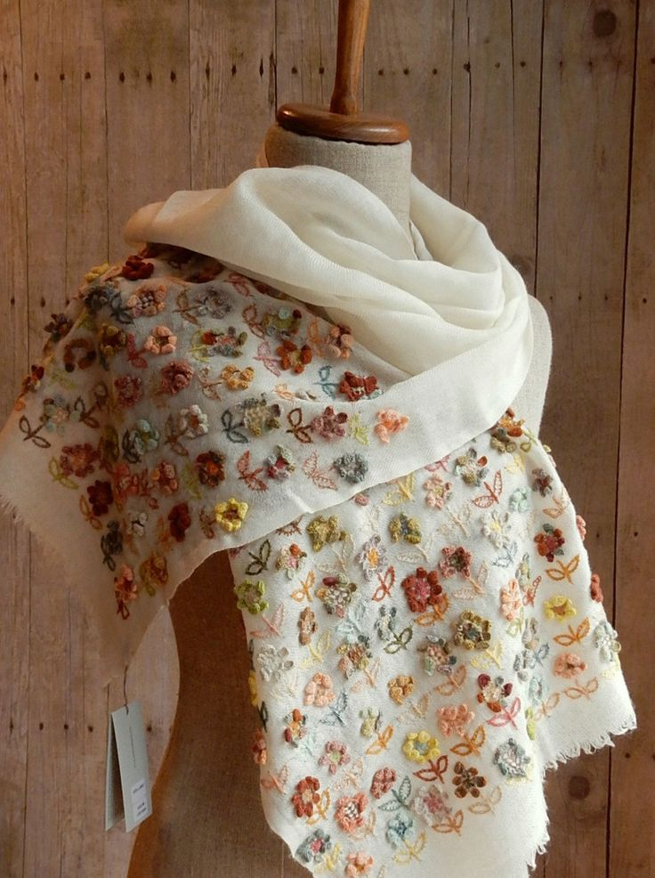 """""""Wild Flower"""" scarf 