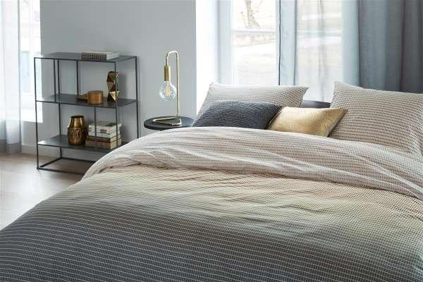 Marmore Bettwasche Grau 155x220 Haus Deko Schlafzimmer