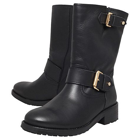 Kurt Geiger Raymond Leather Calf Boots
