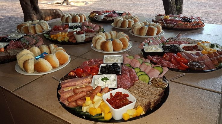 Food at Zambezi Point