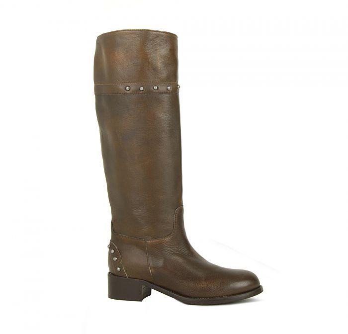 Giemme Кожаные зимние темно-коричневые сапоги от бренда Giemme