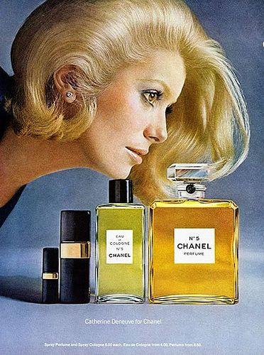 Catherine Deneuve for Chanel by mandgu, via Flickr