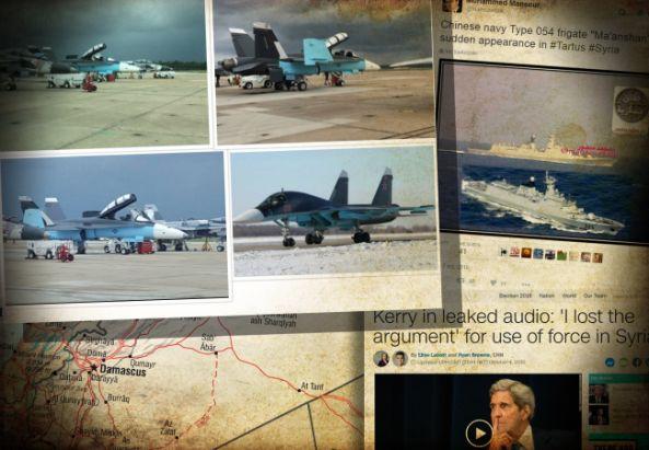 CNA: EEUU puede estar preparando un INMIMENTE ATAQUE de FALSA BANDERA en SIRIA para culpar a RUSIA