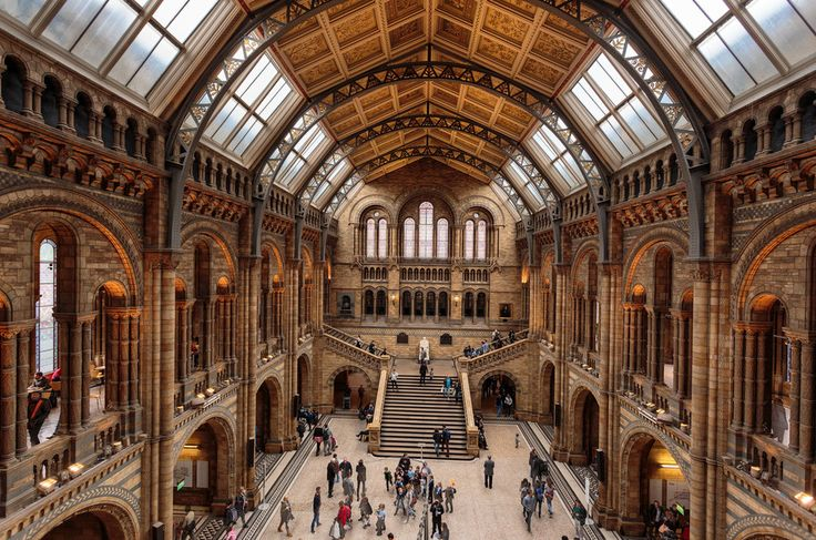 Natural History Museum in London