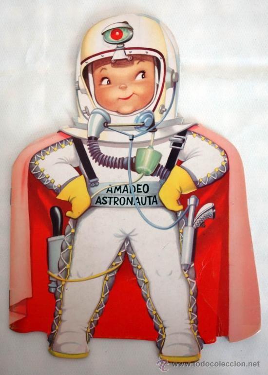Amadeo astronauta. Cuento troquelado de Ferrándiz. Año 1985 - Foto 1
