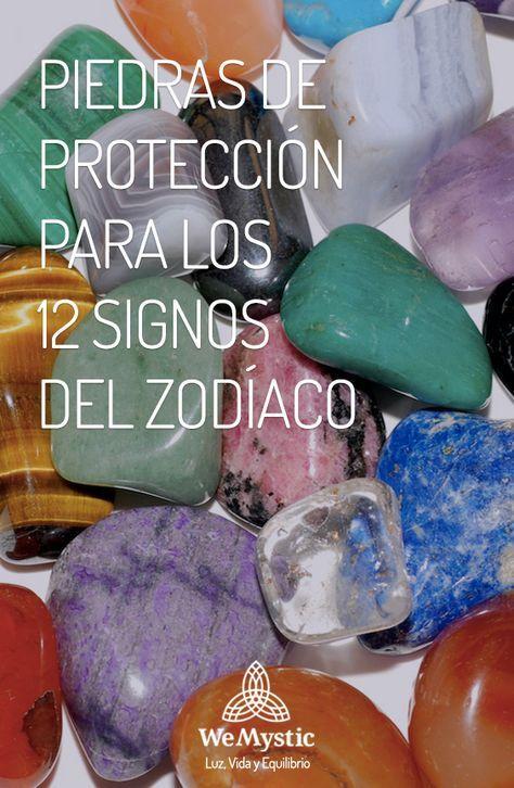 Los cristales y gemas que potencian las cualidades de los 12 signos y pueden ser usadas por ellos como amuletos, para lograr protección contra el mal.