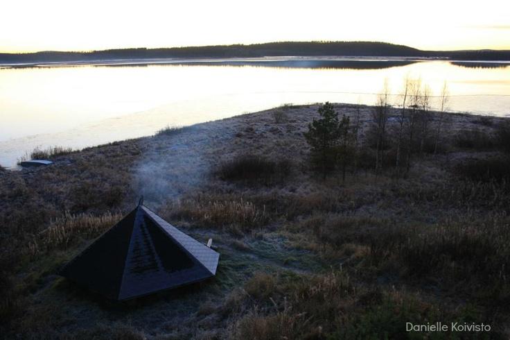 lavvu.. finnish lapland...