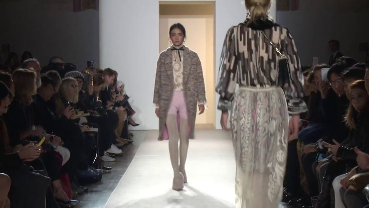Eclectic Femininity • Blugirl Fall Winter 2016/2017 Fashion Show Collection #mfw