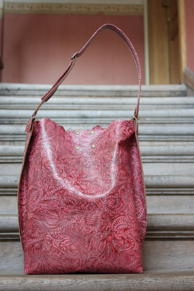SALE!!! -30%!!! Leather bag, Pink bag, Handbag, Unusual, Unique, Navaho by clothesNavaho on Etsy