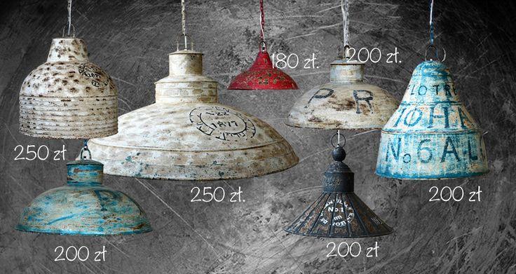 lampy loftowe industrialne vintage