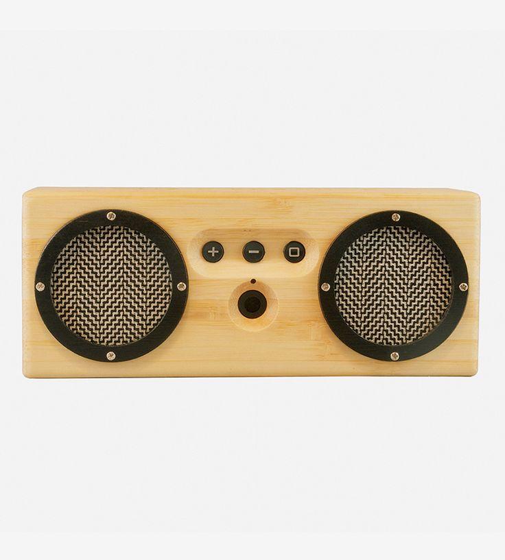 Oslo Bamboo Portable Bluetooth Speaker by Otis & Eleanor on Scoutmob