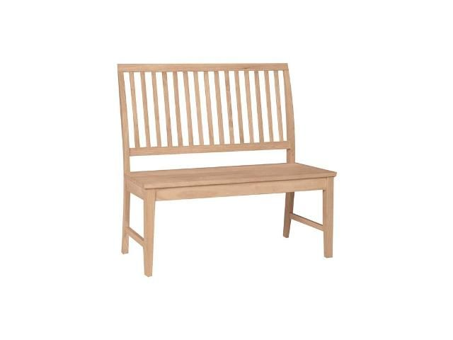 Mission Style Bench - 8 Best Unfinished Wood Benches Images On Pinterest Unfinished