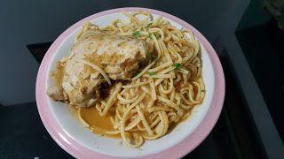 RECETAS DE COCINA ECUATORIANA: Tallarìn con pollo.