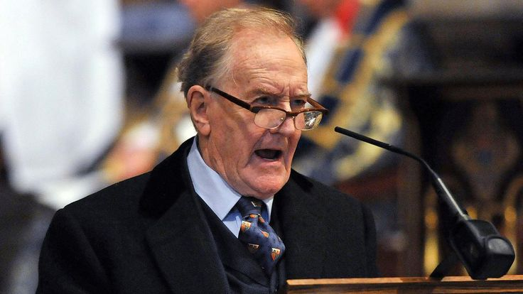 """Robert Hardy, a veteran British stage and screen actor who played Minister for Magic Cornelius Fudge in the """"Harry Potter"""" movies, has died. He was 91."""
