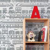 Aimee Wilder - Robo Rail Tin Wallpaper