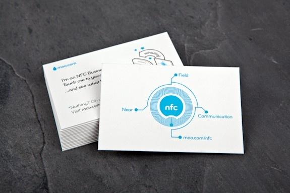 Biglietti da visita Moo, compatibilità tecnologia NFC (video)