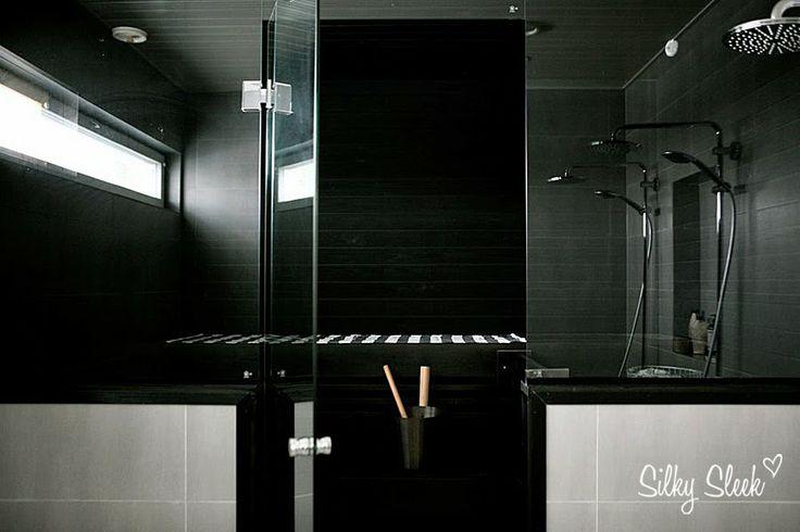 Black sauna http://silkysleek.blogspot.fi/
