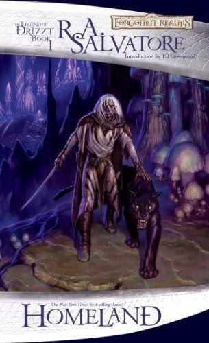 R. A. Salvatore - Homeland (The Dark Elf Trilogy #1)
