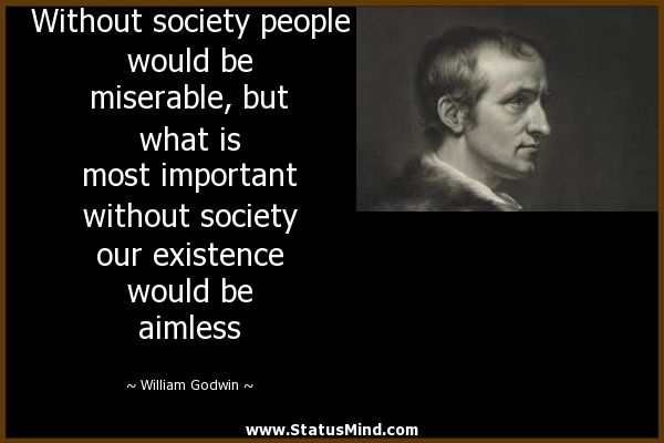 William Godwin quote - Buscar con Google