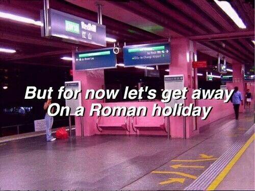 Roman Holiday // Halsey