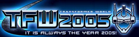 Transformer World 2005 Logo