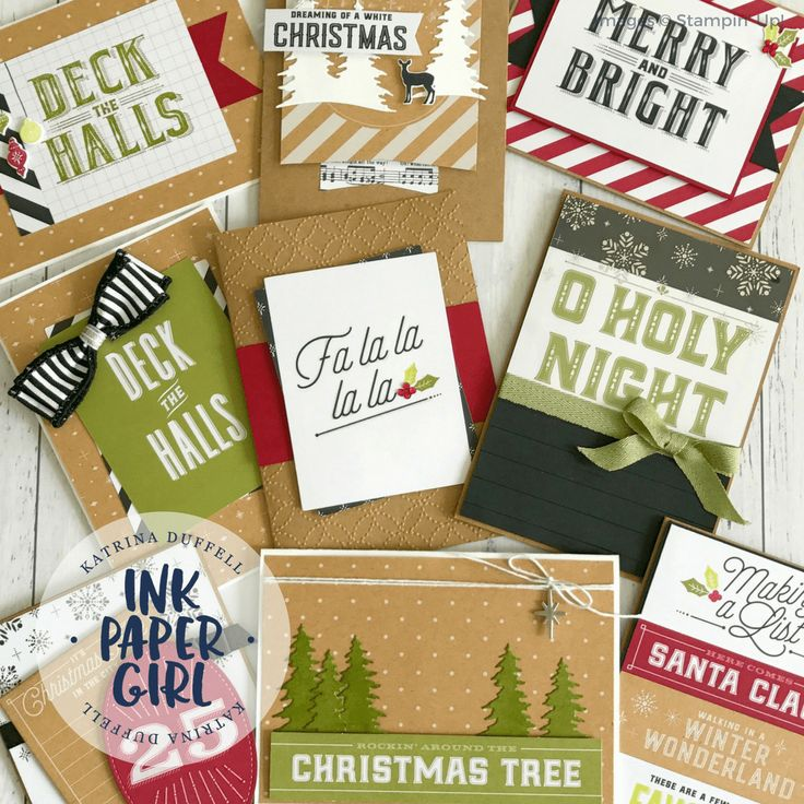 Merry Little Christmas – Memories & More, by Stampin' Up!, from Ink Paper Girl with  Katrina Duffell Independent Stampin' Up! Demonstrator Sydney Australia