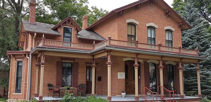 Granger House is a Victorian Italianate house museum in Marion, Iowa reflecting a middle-class lifestyle of 1880's Iowa & the Midwest.