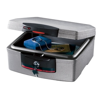 Waterproof/Fireproof Safe (small) in Spring 2013 from Preferred Living on shop.CatalogSpree.com, my personal digital mall.