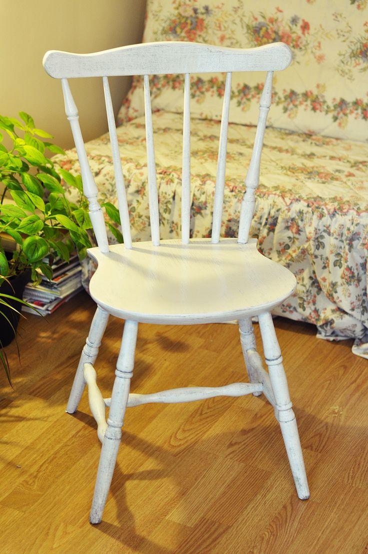 Stare odnowione krzesełko