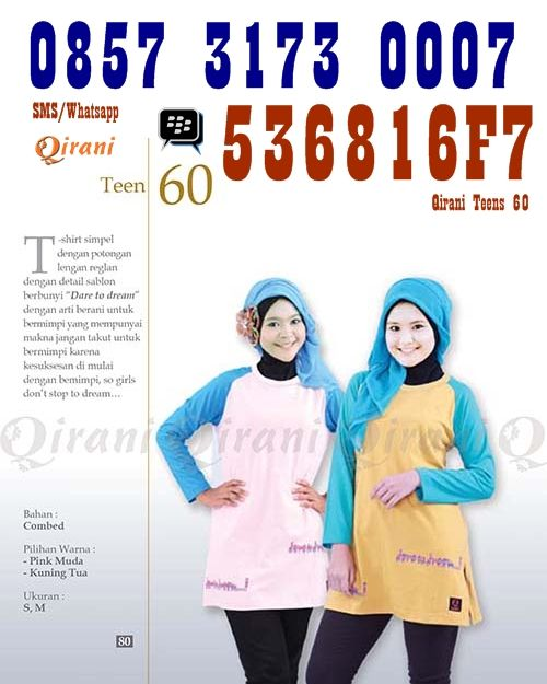 Qirani teens 60 SMS/Telp: 0852 1752 6877 Whatsapp: +6285217526877 BBM: D01CB842