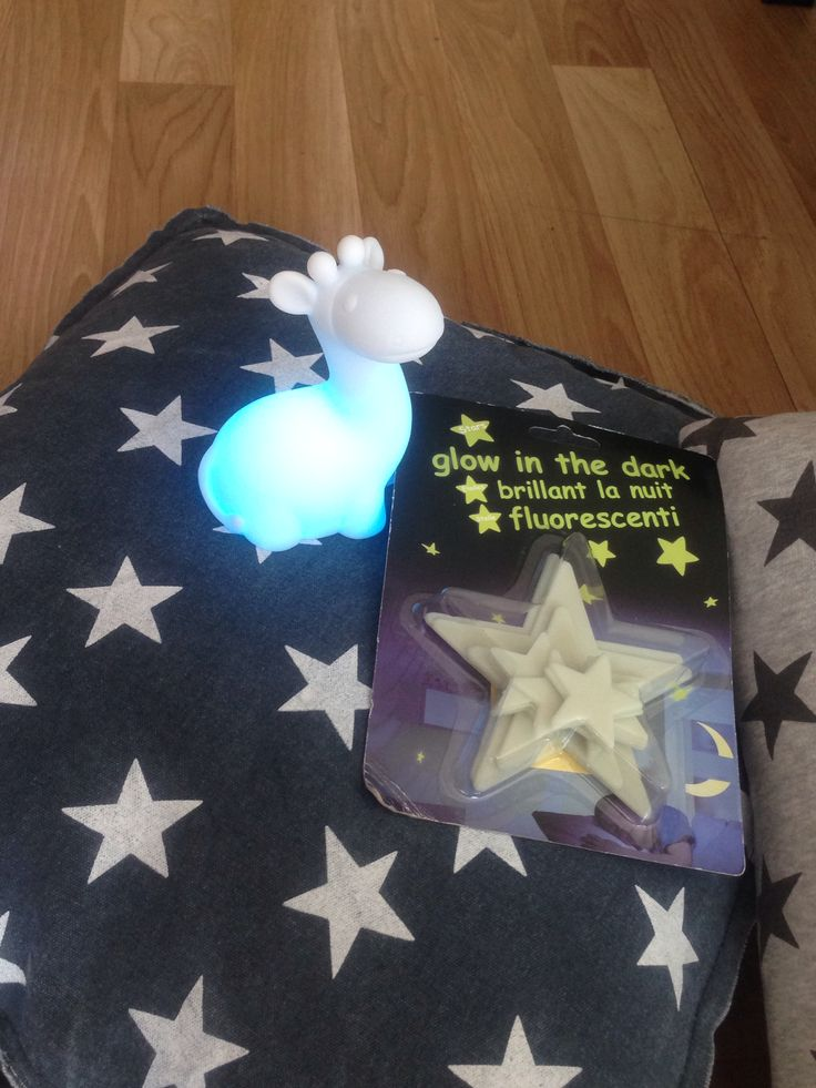 Collor changing lamp & Glow in the dark stars! | From Xenos