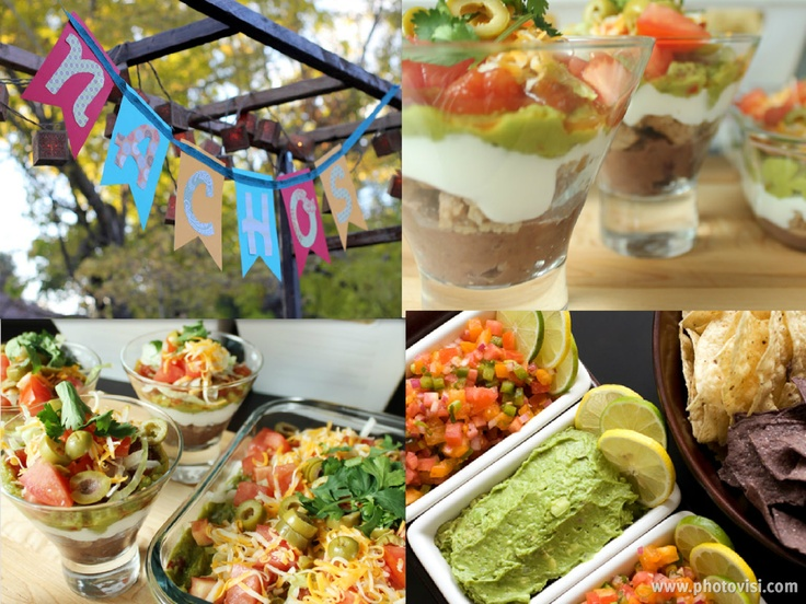 Nacho bar nachos and bar on pinterest for Food bar ideas