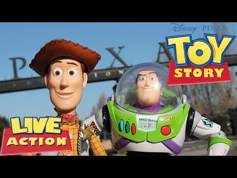 Toy Story 1 - Filme Infantil Dublado Completo (Live Action) - YouTube