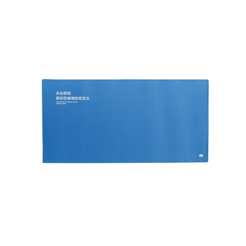 [USD5.66] [EUR5.11] [GBP4.01] Original Extra Large XL Size Xiaomi Mi Soft Anti-Slip Mouse Pad Mat, Size: 80cm * 40cm * 3mm(Blue)