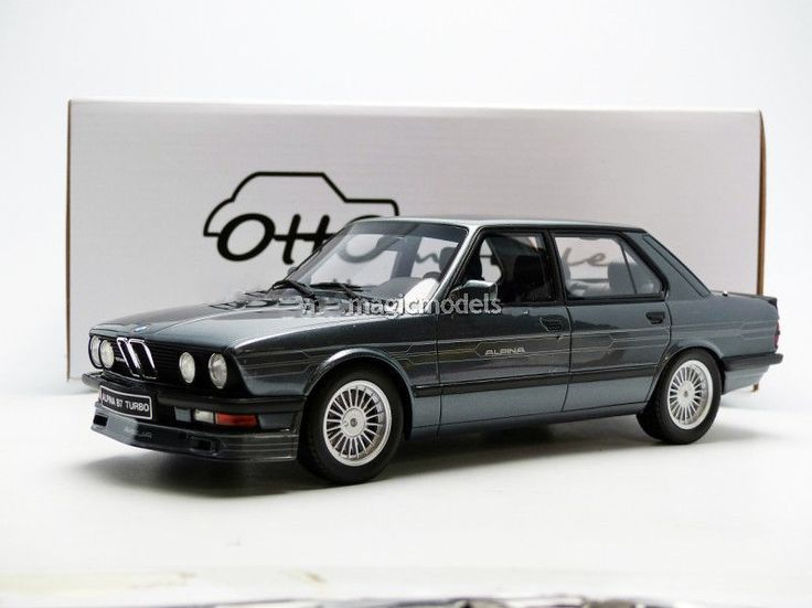 #transformer otto mobile 1984 bmw alpina b7 turbo grey met le of 999 118 scale new release