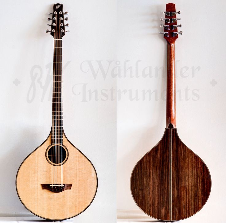 bouzouki instrument | Irish bouzouki Short Scale | Wåhlander Instruments