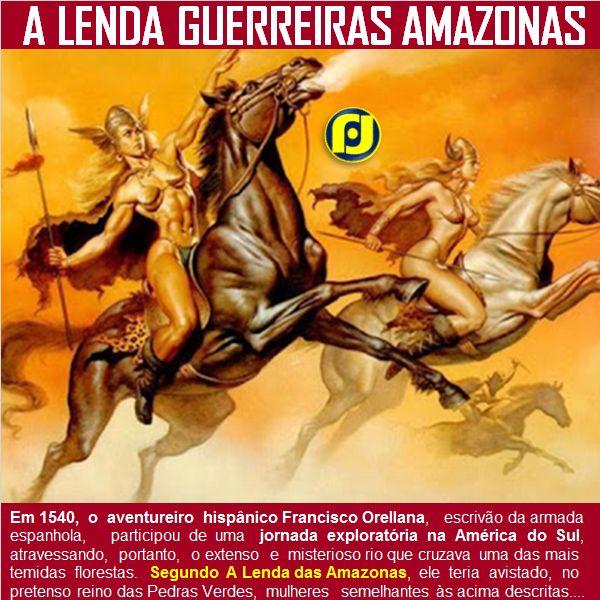 A lenda das guerreiras Amazonas