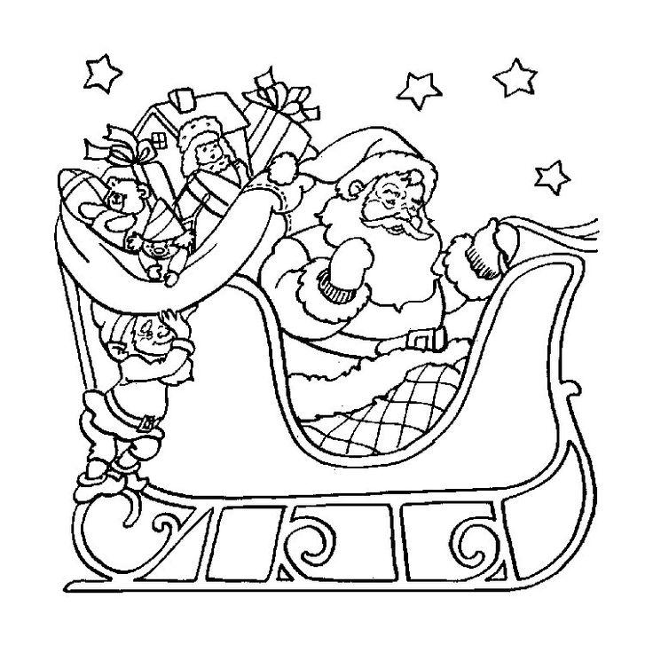 Coloriage Noel Gratuit Imprimer