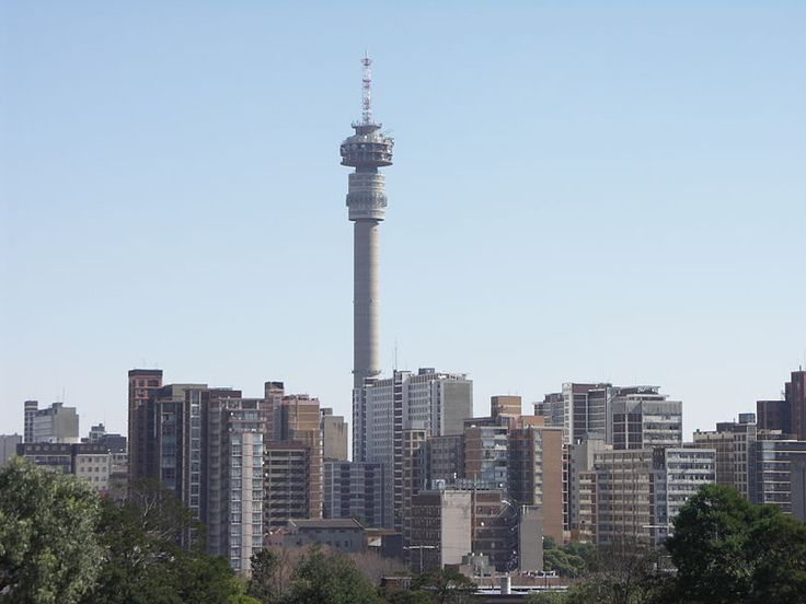 #Travel:  The #Hillbrow Tower, #Johannesburg. The highest structure in Johannesburg, built 1968-71, 269m high.