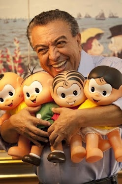 Mauricio de Sousa is a Brazilian cartoonist who has created over 200 characters for his popular series of children's comic books.