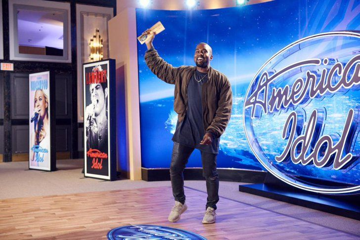 Pin for Later: Kanye West Auditioned For American Idol, and — Spoiler Alert! — He's Going to Hollywood  Kanye got his Golden Ticket!