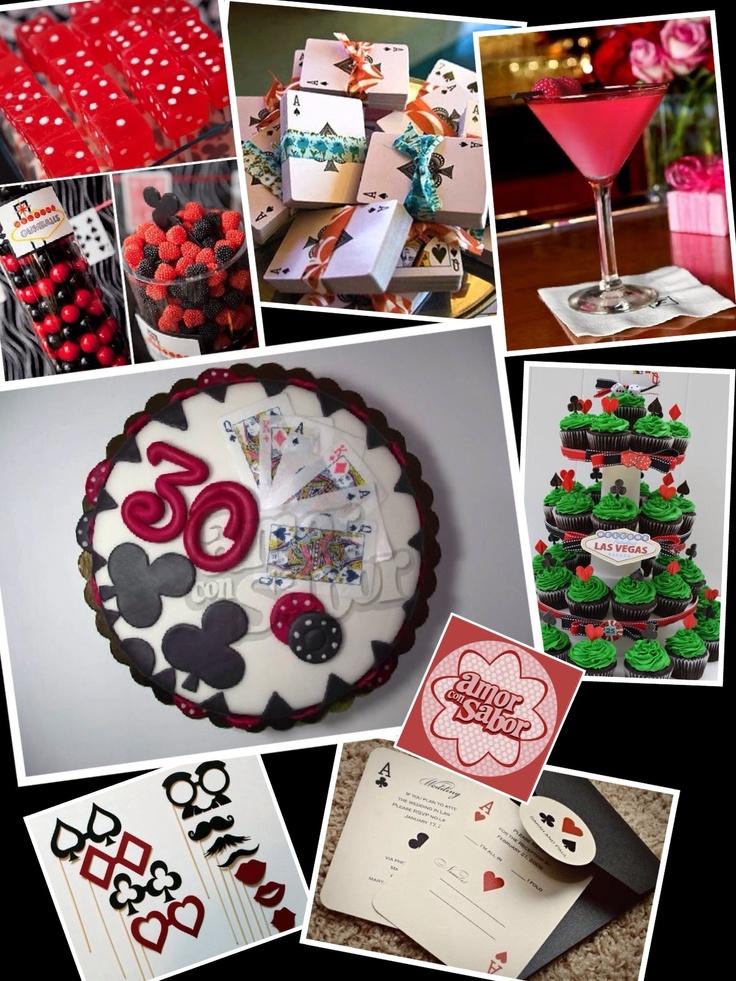 Poker party - Casino Theme - 30th Birthday Party Ideas ...